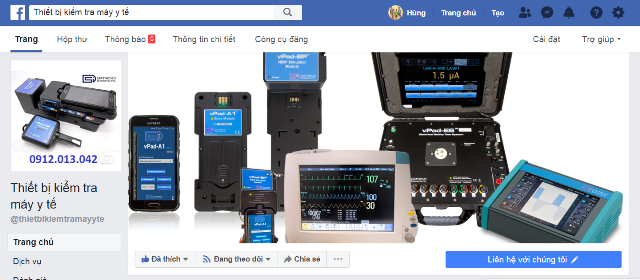 page facebook tbi datrend